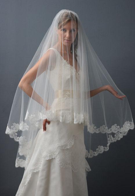 Circular Lace Veil